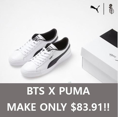 Qoo10 -   BTS x PUMA   SNEAK   Men s Bags   Shoes 04310a127
