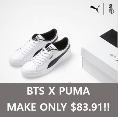 540a1c4d7d80 Qoo10 -   BTS x PUMA   SNEAK   Men s Bags   Shoes
