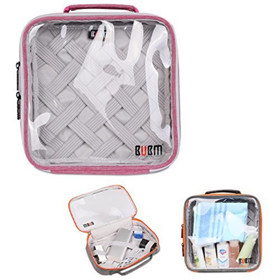 769d73de4172 (BUBM) BUBM Clear Travel Gear Organizer / Electronics Accessories  Bag/Cosmetic Bag