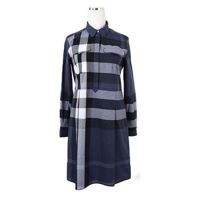 75362fb2bf2 Qoo10 - Burberry Check Cotton Shirt Dress 4003445   Women s Clothing