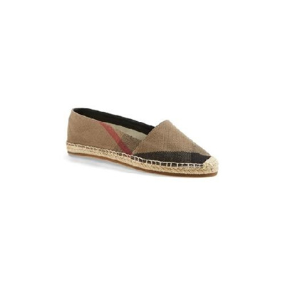 Womens Flats Burberry Womens Hodgeson Check Print Espadrilles 5 5us 36eu Brown Flats classic check Coupons
