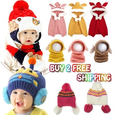 b147a15e465 Qoo10 - Winter Hats   Kids Fashion
