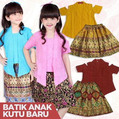 Qoo10 - Buy 2 Free Shipping  PROMO Welans Batik - Kebaya Anak - Kutu Baru -  AL...   Kids Fashion dbd7d94514