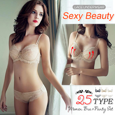 17d77c15879d9  BUY 2 FREE SHIPPING  September New Update! Bra+ Panty Set  Women Fashion