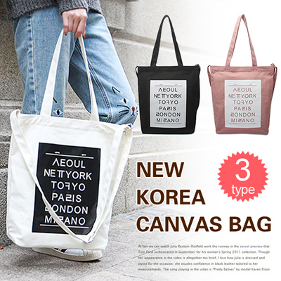 530903add62d [BUY 3 FREE SHIPPING]New Canvas Bags/Lady Tote Bags/Single-shoulder  Bag/Crossbody/School Bag/Shoppin