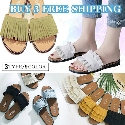 a8d73b541f Buy 3 Free Shipping、Shoes women slippers ladies sandal flat unique design  of the pretty flat