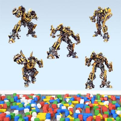 Qoo10 Buy 5 Get 1 Cute Sticker Transformers Bumblebee