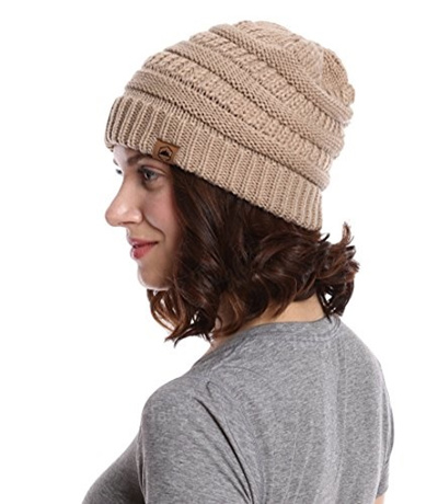 Qoo10 - Cable Knit Beanie by Tough Headwear - Thick 605f9831900