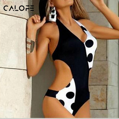 8b4715fc112a1 Qoo10 - CALOFE 2018 Vintage Sexy One Piece Swimsuit Women Swimwear Print  Bodys...   Sportswear