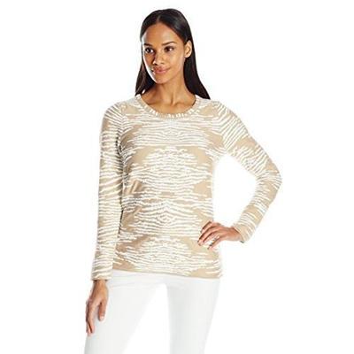 d4757aa6be Qoo10 - (Calvin Klein) Women Sweaters DIRECT FROM USA Calvin Klein Women s  Ani...   Women s Clothing