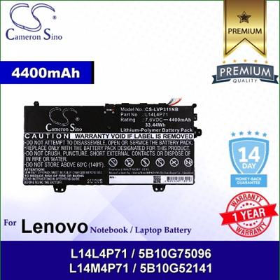 CameronSinoCameronSino Battery for Lenovo 80J80021US / Yoga 3 11-5Y10 /  Yoga 3 Pro 11 Battery L-LVP311NB