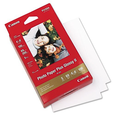 Qoo10 Canon Photo Paper Plus Glossy Ii 4x6 2 Packages X 100