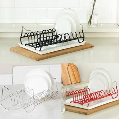 Capella Dish Plate Drying Rack Organizer/Non-slip Plate Holder/Durable Organizer/ & Qoo10 - Plate Drying Rack : Sports Equipment