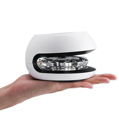 2W Solar Car Home NanoPure Intelligent Control Air Purifier Purification Box