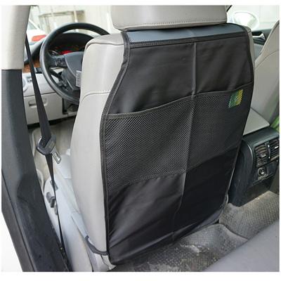 Car Auto Nylon Seat Back Protector Cover Case For Children Kick Mat Storage Bag