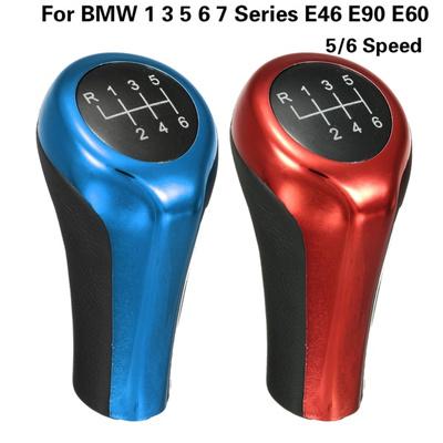 Car Auto Vehicle 5/6 Speed Manual Gear Shift Stick Knob Lever For BMW 1 3 5  6 7 Series E46 E90 E60
