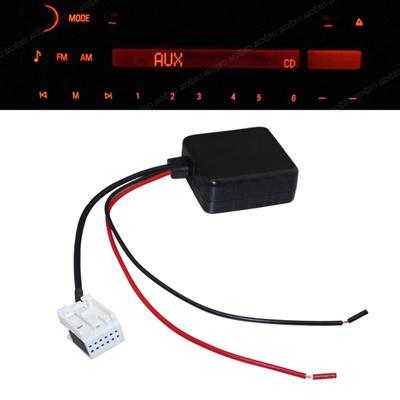 Car Bluetooth Module with Filter for BMW E60 04-10 E63 E64 E61 Mini Navi  Radio Stereo Aux Cable Adap