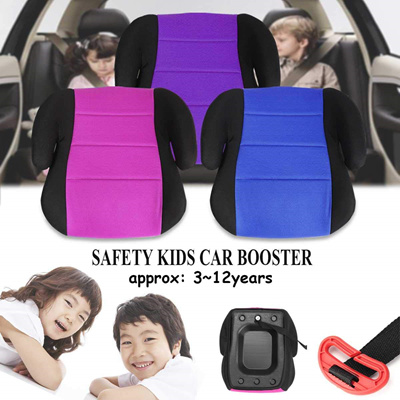 Car Seat Booster Safety Breathable Cushion Portable Comfortable For Baby Toddler Kids Children