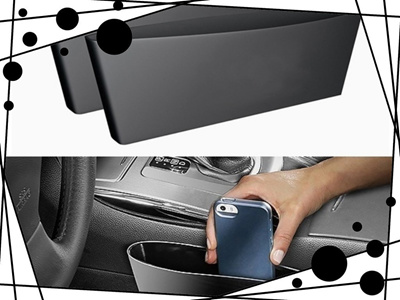Car Seat Caddy Catches Items Storage Box Finishing Supplies Apertural Glove