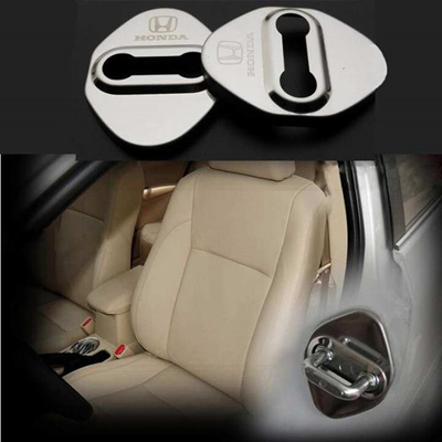 Car Styling Car Door Lock Cover DIY Case For HONDA Accord FIT CITY Odyssey  CIVIC