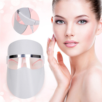 Carer LED Photon Therapy Facial Mask Red Light Treatment Skin Care  Rejuvenation Beauty Device