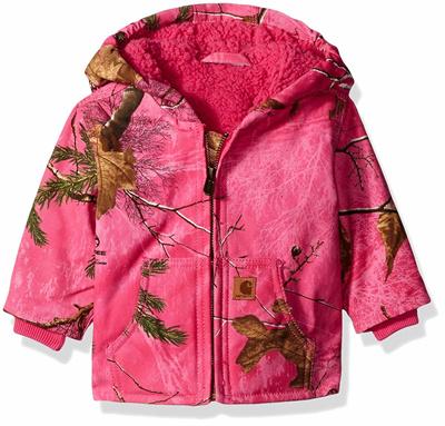 63c8b28785d3 Qoo10 - Carhartt Girls Redwood Jacket Sherpa Lined   Baby   Maternity