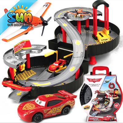 Qoo10 Carpark Toys Cars Toys Cars Rail Set Birthday Christmas