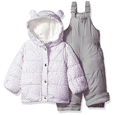 07ca15b43c45 Qoo10 - Carters Girls 2-Piece Heavyweight Printed Snowsuit   Kids ...