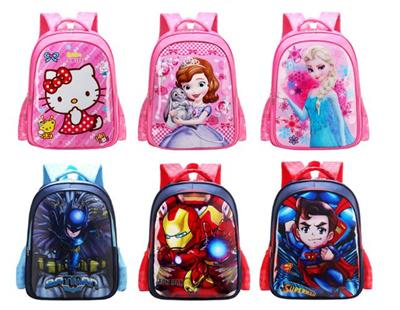 7b064eafc7a7 Qoo10 - ☆Cartoon Children Bags ☆ Princess   Minnie   Mickey   Winnie    Frozen ...   Kids Fashion