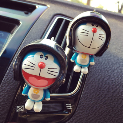 Cartoon Doll Car Air Conditioning Outlet Perfume Folder Car Interior  Decorations Car Perfume