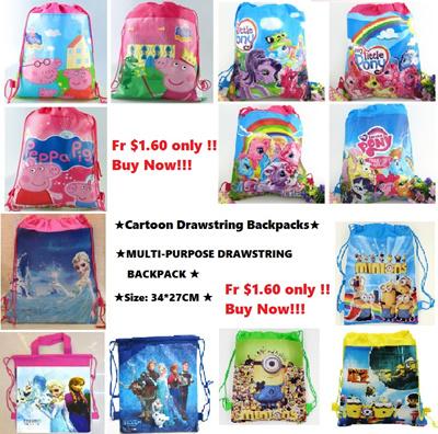 Qoo10 - kids Drawstring Bag   Kids Fashion 3214200a4d109