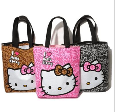 b66e1bab4 Qoo10 - cartoon hello kitty shoulder bag/tote bag canvas good quality bags  bes... : Bag & Wallet