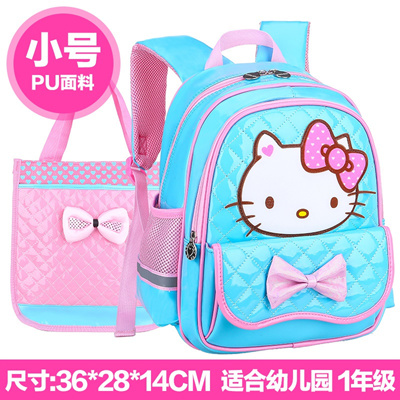 Qoo10 - Cartoon KT cat children s kindergarten schoolbag schoolgirl child 3- 6 ...   Kids Fashion 3624977e4b9f9