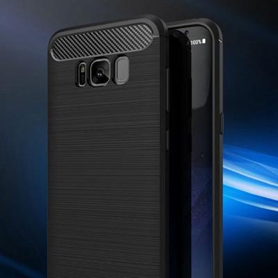 watch 8de86 e2797 Cases Cover for Samsung Galaxy S8 plus Rubber Slim Durable Soft TPU Fiber  Case for Galaxy S8 S8plus