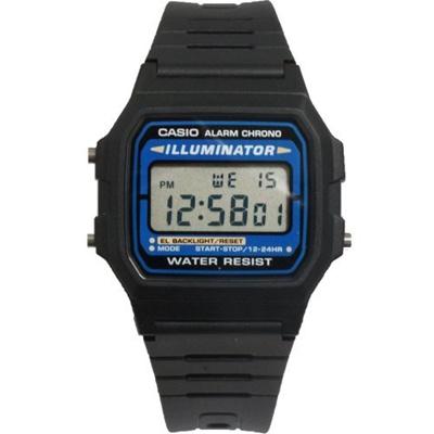 lowest price 74266 235d0 (Casio) Casio F105W-1A Casio Illuminator Watch-F105W-1A