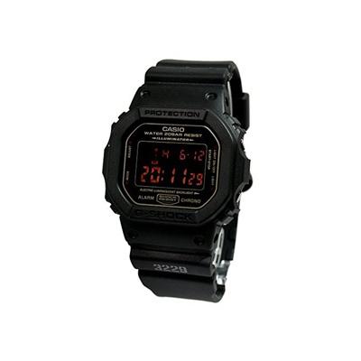 Casio Casio G Shock G Shock Mat Black Red Eye Dw 5600ms 1dr Black Watch Reimportation