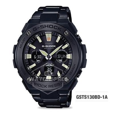 3428b4ba2548 Qoo10 - G-SHOCK GSTS130BD-1A   Fashion Accessories