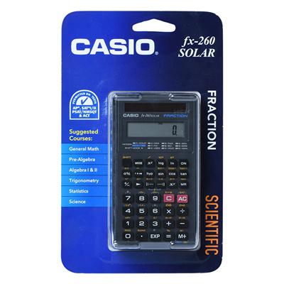 Online casio fx-260 calculator.