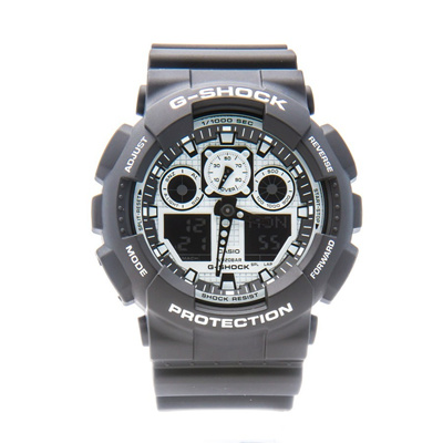 a98c3ec3a477 Qoo10 - CASIO G-SHOCK Watch GA-100BW-1ADR   Watch   Jewelry