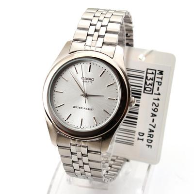 timeless design bd532 7a36b Casio MTP1129 MTP1129A Men s Classic Stainless Steel Dress Watch  MTP-1129A-7A