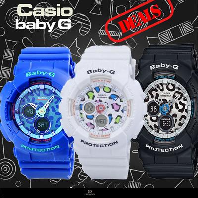 8cf4228b31e1  PRESTIGE  CASIO BABY-G BA-120 Watch Series! Free Shipping!