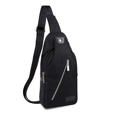 a12da6325763 Casual chest bags man bag shoulder Crossbody baodan male Korean version of  the new canvas sports bag