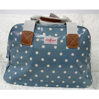 Qoo10 - Cath Kidston Overnight Bag Spot Blue - Blue   Bag   Wallet 20815b01ed5e4