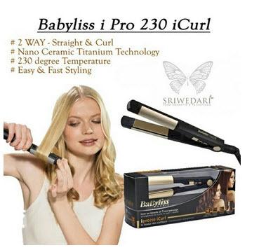 Catokan Babyliss IPro 230 ICurl Gold 2in1 Check Babyliss #SJ0041 K00001