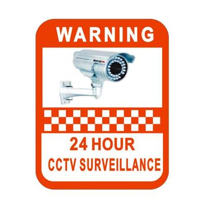 Qoo10 - CCTV Monitoring Warning Mark Sticker Vinyl Decal Video Camera  Security...   Women s Clothing b732f223d1
