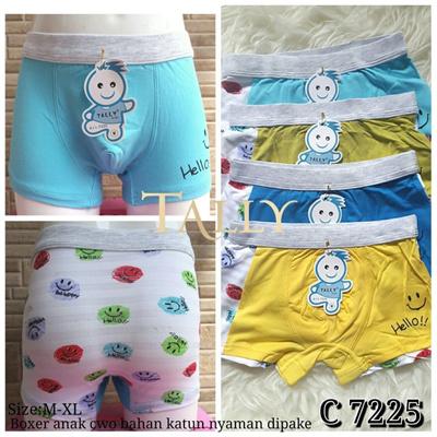 Qoo10 - Celana Boxer Anak Cowok Hot Pants Hello TALLY 7225   Pakaian ... b41a5baf9b