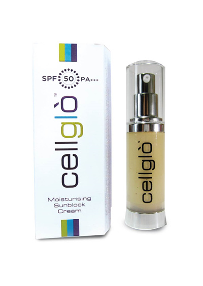 Cellglo Moisturising Sunblock Cream SPF50 PA+++