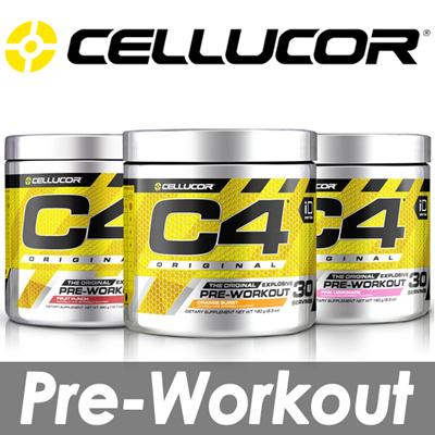 [Cellucor] C4 Original Explosive Pre-Workout / 60 Serving