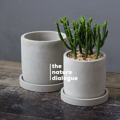 Cement Pots Ceramic Planter Succulent Porcelain