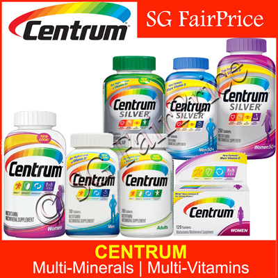 More than Centrum silver vitamins